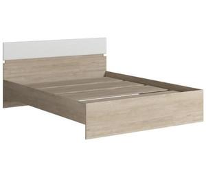 Кровать Светлана 140*200см сонома/белый