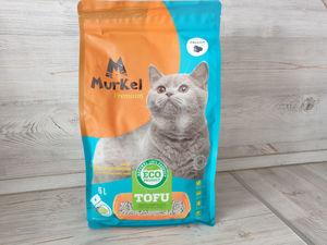 Наполнитель тофу Активированный уголь 6л (Муркел Premium)