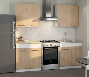 Кухня Алиса2 1,6м сонома/белый*