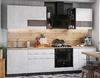 Кухня Бруклин 2,8м бетон белый