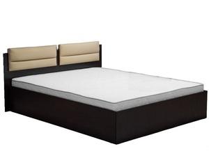 Кровать Стелла 140*200см сонома/белый +матрас