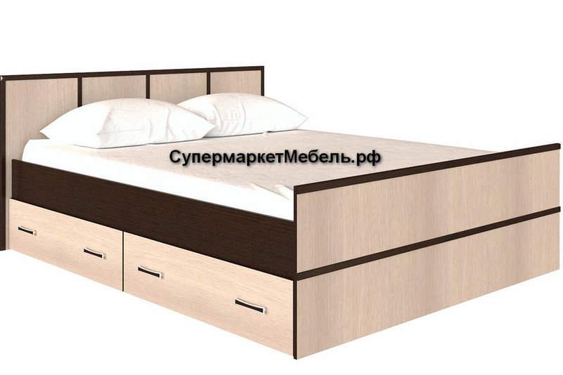 Кровать Сакура 160*200см с ящиками +матрас*