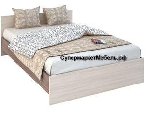 Кровать Бася 160*200см ясень +матрас