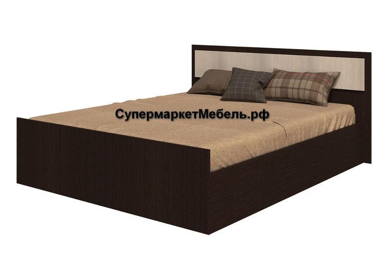 Кровать Фиеста 120*200см венге/лоредо +матрас