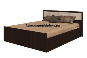 Кровать Фиеста 140*200см венге/лоредо +матрас*