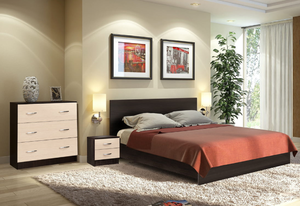 Спальня Ронда 160 венге/дуб (q18)