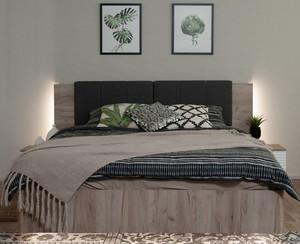 Кровать Джулия МИ  160*200 подсветка, подъемный механизм