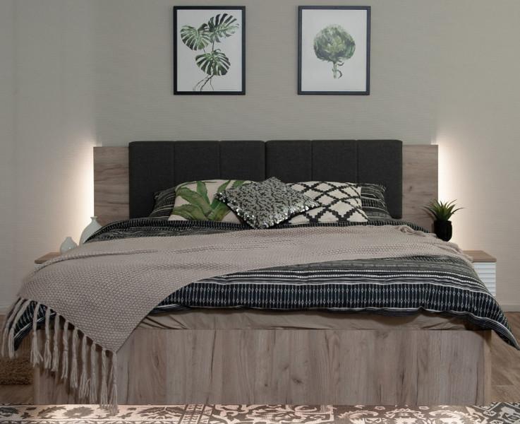 Кровать Джулия МИ  160*200 подъемный, подсветка +матрас