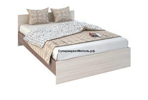 Кровать Бася 140*200см ясень +матрас*