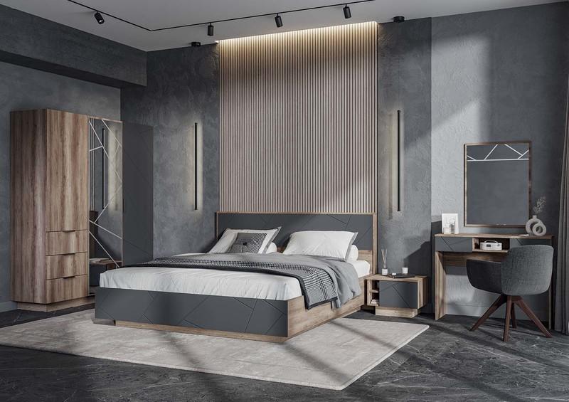 Кровать Морена 140*200, белый