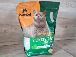 Наполнитель силикагель Скошенная трава 4л (Муркел Premium)