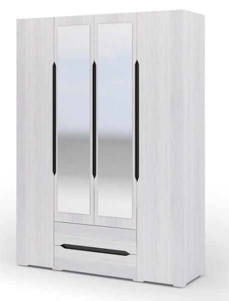 Шкаф Валенсия 4-х створчатый с ящиками
