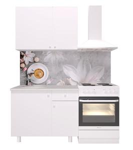 Кухня Поинт 1,0м белый