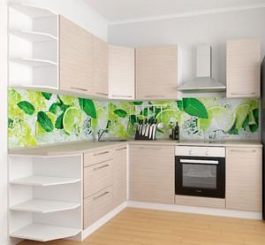 Кухня Дина 4,1м угловая дуб белфорд