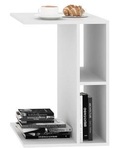 Приставной стол Лофт белый