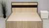 Кровать Лирика 160*200 сонома/венге +матрас