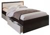 Кровать Гармония 90*200см венге/белфорд с ящиками +матрас