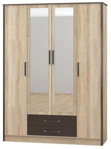 Шкаф Лирика 4-х створчатый с ящиками