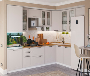 Кухня Кёльн 4,2м угловая, блажн софт