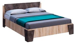 Кровать Санремо 160*200 сонома/ателье