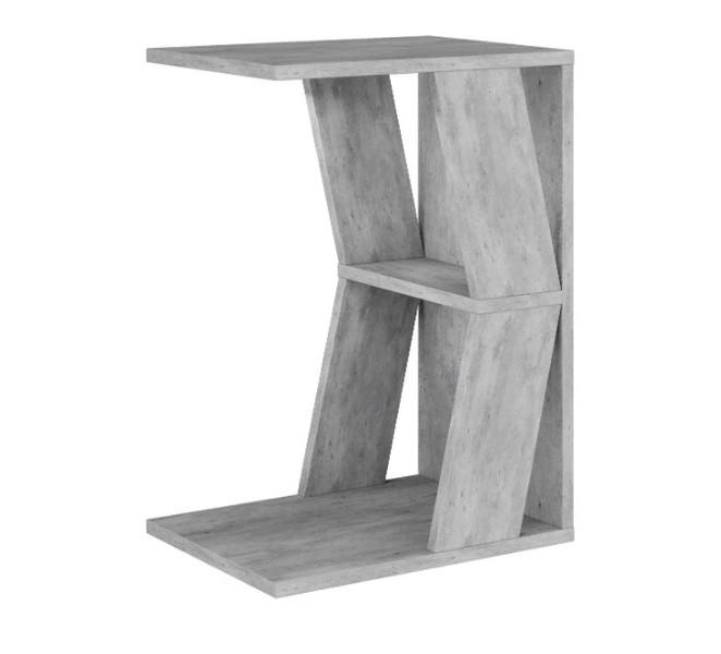 Приставной стол Лайт3 метрополитан грей