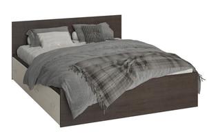 Кровать Ронда КР4Я 160*200см с ящиками, венге/дуб (q18)