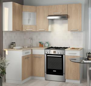 Кухня Алиса-12 3,1м угловая сонома/белый*