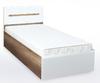 Спальня Виктория 160 с ящиками белый +матрас