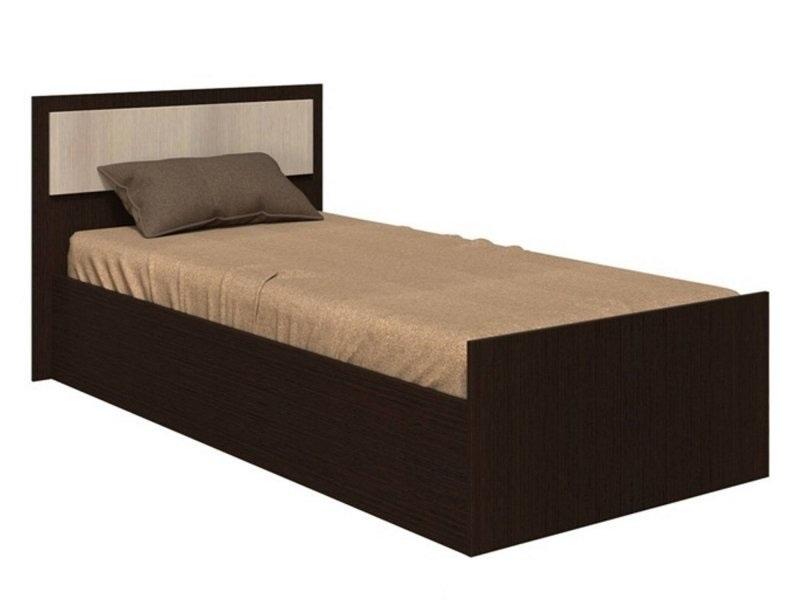 Кровать Фиеста 90*200см венге/лоредо +матрас