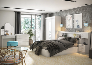 Спальня Бася белый