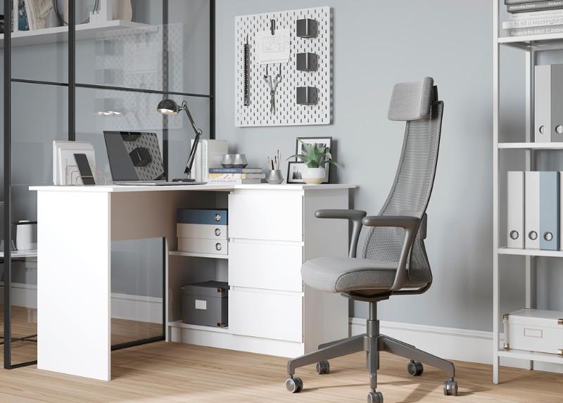 Стол универсальный Мори мс16, белый (q16)