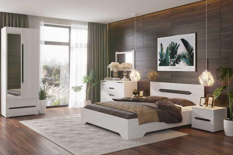 Спальня Валенсия3 140 +матрас
