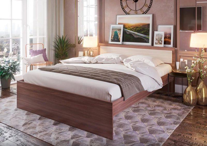 Кровать Гармония 120*200, ясень