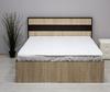 Кровать Лирика 140*200 сонома/венге +матрас