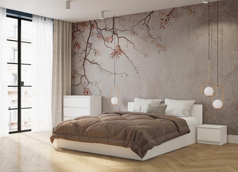 Кровать Мори крм1600.1 160*200, белый (q16)