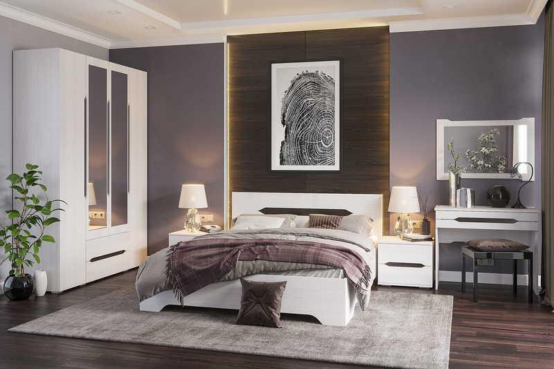Спальня Валенсия2 160 +матрас